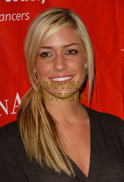 KRISTIN CAVALLERI.The 2nd Annual Celebrity Rock 'n Bowl presented by The Leukemia & Lymphoma Foundation held at The Lucky Strike Lanes in Hollywood, California, USA..April 6th, 2006.Ref: DVS.headshot portrait .www.capitalpictures.com.sales@capitalpictures.com.Supplied By Capital PIctures