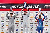 F4 US Championship<br /> Rounds 7-8-9<br /> Canadian Tire Motorsport Park<br /> Bowmanville, ON CAN<br /> Sunday 9 July 2017<br /> podium<br /> World Copyright: Gavin Baker<br /> LAT Images