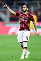 Hakan Calhanoglu <br /> Milano 20/10/2019 Stadio Giuseppe Meazza <br /> Football Serie A 2019/2020 <br /> AC Milan - Lecce <br /> Photo Image Sport / Insidefoto