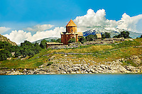 10th century Armenian Orthodox Cathedral of the Holy Cross on Akdamar Island, Lake Van Turkey 46