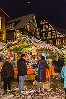 Europe/Allemagne/Bade-Würrtemberg/Forêt Noire/ Gengenbach: Marché de Noël