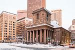 Kings Chapel, Boston National Historical Park, Boston, Massachusetts, USA