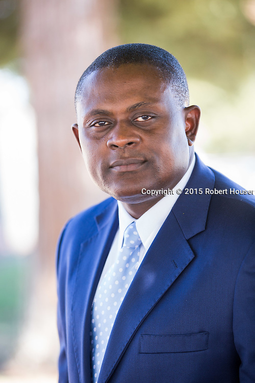 Portrait of Bennet I. Omalu, MD, MBA, MPH<br /> Forensic Pathologist/Neuropathologist/Epidemiologist<br /> San Joaquin County Sheriff-Coroner/Chief Medical Examiner