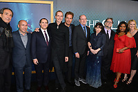 Alexandre Desplat, Jason Stuart, Michael Stuhlbarg, Doug Jones, Michael Shannon, Richard Jenkins, Sally Hawkins, Guillermo del Toro, Octavia Spencer &amp; Vanessa Taylor at the Los Angeles premiere of &quot;The Shape of Water&quot; at the Academy of Motion Picture Arts &amp; Sciences, Beverly Hills, USA 15 Nov. 2017<br /> Picture: Paul Smith/Featureflash/SilverHub 0208 004 5359 sales@silverhubmedia.com