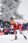 HOLMENKOLLEN, OSLO, NORWAY - March 16: Bernhard Gruber of Austria (AUT) during the cross country 15 km (2 x 7.5 km) competition at the FIS Nordic Combined World Cup on March 16, 2013 in Oslo, Norway. (Photo by Dirk Markgraf)