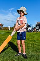 Fan during Day 2 of the Second International Cricket Test match, New Zealand V England, Hagley Oval, Christchurch, New Zealand, 31th March 2018.Copyright photo: John Davidson / www.photosport.nz