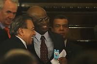 SAO PAULO, SP, 09.12.2013 - JOAQUIM BARBOSA / TJ-SP - O Cartonista Mauricio de Souza durante primeira visita oficial do Presidente do STF e do CNJ, Ministro Joaquim Barbosa, ao Tribunal de Justiça de Sao Paulo no Salão Nobre Manoel da Costa Manso regiao central da cidade, neste segunda-feira, 09. (Foto: Vanessa Carvalho / Brazil Photo Press).