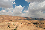 Israel, the Negev desert. A view of Wadi Akrabim