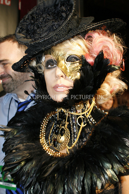 WWW.ACEPIXS.COM . . . . .  ....September 13 2009, New York City....Singer Lady Gaga outside the 2009 MTV Video Music Awards at Radio City Music Hall on September 13 2009 in New York City.....Please byline: NANCY RIVERA- ACE PICTURES.... *** ***..Ace Pictures, Inc:  ..tel: (212) 243 8787 or (646) 769 0430..e-mail: info@acepixs.com..web: http://www.acepixs.com