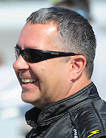 May 2, 2008; Richmond, VA, USA; NASCAR Nationwide Series driver Kevin Lepage during the Lipton Tea 250 at the Richmond International Raceway. Mandatory Credit: Mark J. Rebilas-