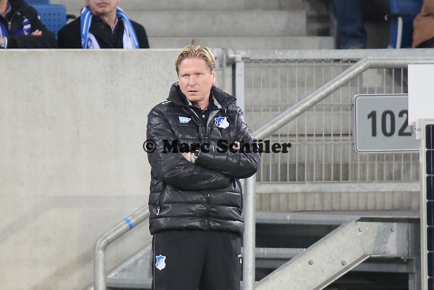 Trainer Markus Gisdol (Hoffenheim) - TSG 1899 Hoffenheim vs. Eintracht Frankfurt, WIRSOL Neckar Arena Sinsheim