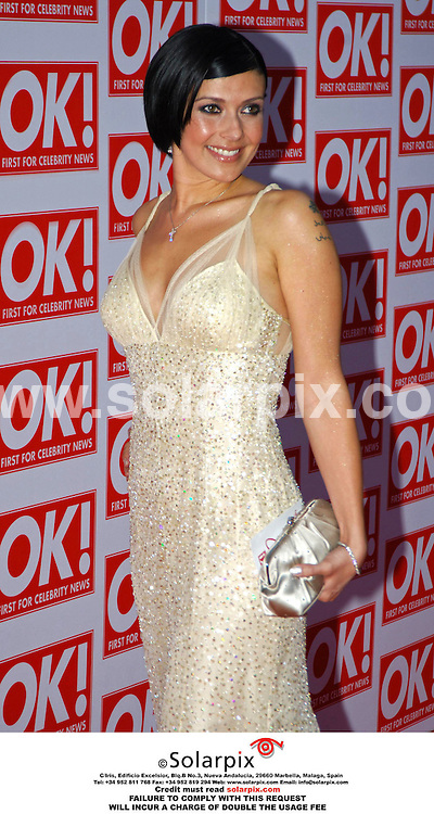 ALL-ROUND PICTURES FROM SOLARPIX.COM - 11.05.06.*MUST CREDIT SOLARPIX.COM OR DOUBLE USAGE FEE*.The Ok magazine party in London last night with a host of stars and glamoure models TV celebrities.  .This pic:KYM MARSH.JOB REF: 2331 MSR