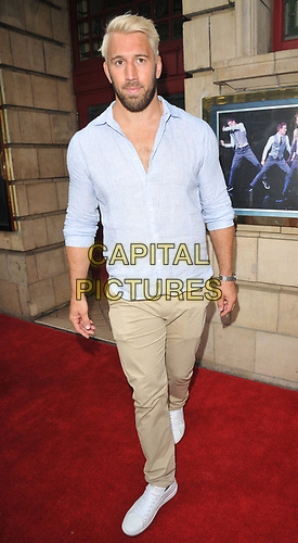 """Chris Robshaw at the """"The Illusionists"""" show press night, Shaftesbury Theatre, Shaftesbury Avenue, London, England, UK, on Wednesday 10th July 2019.<br /> CAP/CAN<br /> ©CAN/Capital Pictures"""