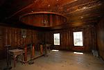 Interior of Fort Ross Chapel