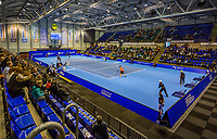 Rotterdam, Netherlands, December 17, 2017, Topsportcentrum, Ned. Loterij NK Tennis, Final man's single: overal view<br /> Photo: Tennisimages/Henk Koster