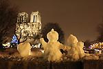 Paris Snow Christmas
