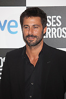 Actor Hugo Silva poses at `Dioses y perros´ film premiere photocall in Madrid, Spain. October 07, 2014. (ALTERPHOTOS/Victor Blanco) /nortephoto.com
