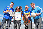 The community in Cordal is gearing up for a major June weekend with their annual Jamboree which has a host of fun events for all the family. .L-R Mike O'Sullivan (chairman of Coiste na nÓg), Mary O'Connor (assistant secretary of Coiste na nÓg), Tady O'Donohgue (school officer) and George O'Connor (child welfare officer).