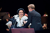 Montserrat Caballe, Igor Portnoy<br /> Perfomance at State Kremlin palace, Moscow, Russia on June 06,  2018.<br /> **Not for sale in Russia or FSU**<br /> CAP/PER/EN<br /> &copy;EN/PER/Capital Pictures