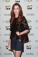Siobhan Donaghy arriving for the 59th Ivor Novello Awards, at the Grosvenor House Hotel, London. 22/05/2014 Picture by: Alexandra Glen / Featureflash