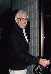 James Coburn pictured in New York City in September of 1985.