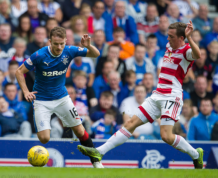 Andy Halliday and Louis Longridge