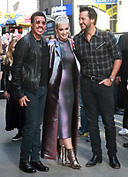 NEW YORK, NY - OCTOBER 4: Lionel Richie, Katy Perry and Luke Bryan at Good Morning America promoting the new season of America Idol in New York City on October 4, 2017. <br /> CAP/MPI/RW<br /> &copy;RW/MPI/Capital Pictures