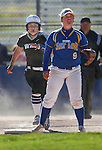 Western Nevada's Kacie Freudenberger runs the bases against Salt Lake Community College at Edmonds Sports Complex in Carson City, Nev., on Friday, April 15, 2016. <br />Photo by Cathleen Allison