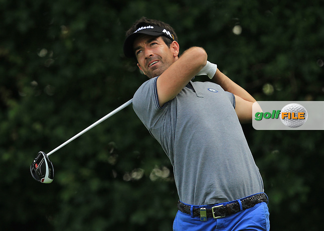 Eduardo De La Riva (ESP) on the 3rd tee during the Round 2 of the 2016 BMW International Open at the Golf Club Gut Laerchenhof in Pulheim, Germany on Friday 24/06/16.<br /> Picture: Golffile | Thos Caffrey