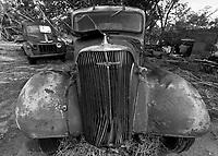 Old Abandoned Pick-Up Truck in Nara Visa, NM