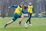 21.02.2019, Trainingsgelaende am Weserstadion, Bremen, GER, 1.FBL, Training SV Werder Bremen<br /> <br /> im Bild<br /> Felix Beijmo (Werder Bremen #02), <br /> <br /> Foto © nordphoto / Ewert