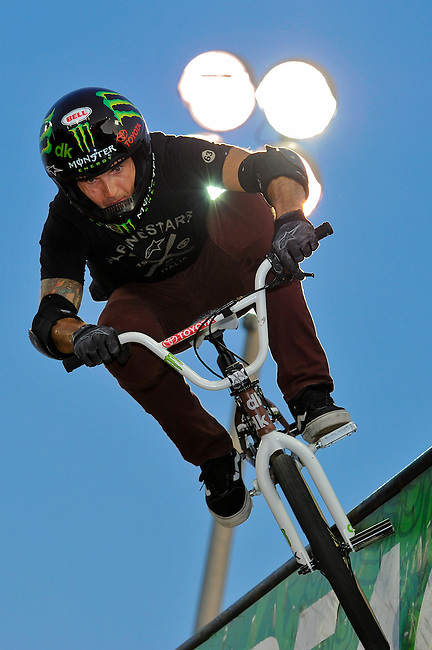 17 August, 2012:  Jamie Bestwick competes in the Bmx Final: Round 2 of the Pantech Beach Championships in Ocean City, MD. Jamie won the event.