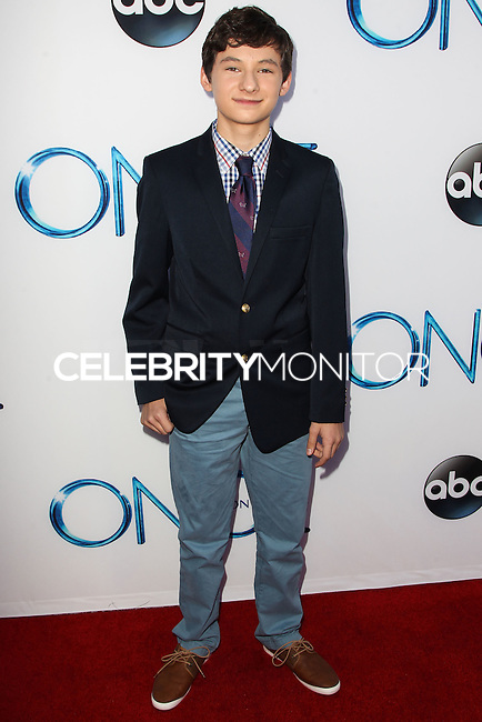 HOLLYWOOD, LOS ANGELES, CA, USA - SEPTEMBER 21: Jared Gilmore arrives at the Los Angeles Screening Of ABC's 'Once Upon A Time' Season 4 held at the El Capitan Theatre on September 21, 2014 in Hollywood, Los Angeles, California, United States. (Photo by Celebrity Monitor)