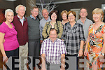 60TH BIRTHDAY: Maurice McCarthy, Kilflynn, pictured with family and friends celebrating his 60th birthday in the Brook Lane Hotel, Kenmare, on Saturday.