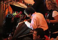 Ana Gabriel durante su concierto en el palenque de la Feria de Leon 2013 , Guanajuato el 31 de enero del 2013..<br /> (*Foto:TiradorTercero/NortePhoto*)