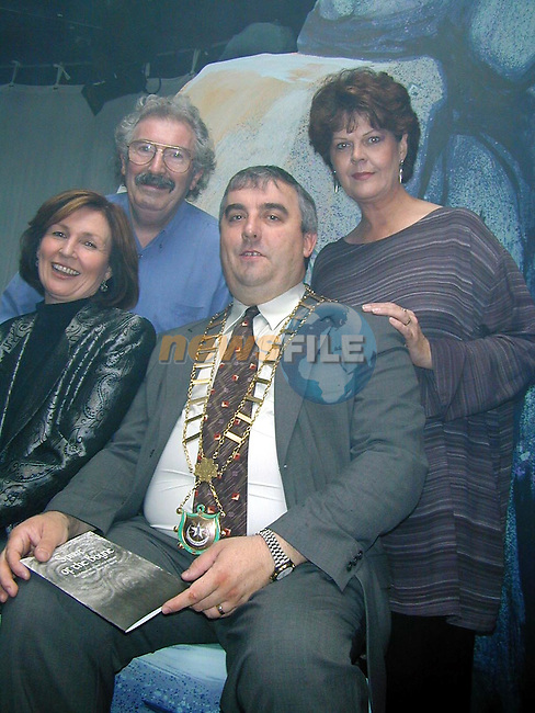 at the Launch of the Little Duke Teathre Spirit of the Boyne Play.Pic Fran Caffrey Newsfile
