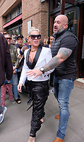 www.acepixs.com<br /> <br /> October 14 2017, New York City<br /> <br /> Singer Pink left a downtown hotel on October 14 2017 in New York City<br /> <br /> By Line: Curtis Means/ACE Pictures<br /> <br /> <br /> ACE Pictures Inc<br /> Tel: 6467670430<br /> Email: info@acepixs.com<br /> www.acepixs.com