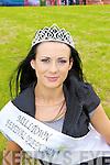 Shauna O'Connor Milltown who won the Milltown Fair Queen in Milltown Hall on Saturday night..
