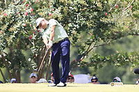 Omar Uresti (USA) tees off the 2nd tee during Saturday's Round 3 of the 2017 PGA Championship held at Quail Hollow Golf Club, Charlotte, North Carolina, USA. 12th August 2017.<br /> Picture: Eoin Clarke | Golffile<br /> <br /> <br /> All photos usage must carry mandatory copyright credit (&copy; Golffile | Eoin Clarke)