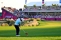 Emilliano Grillo (ARG) in action during the final round of the Commercial Bank Qatar Masters played at Doha Golf Club, Doha, Qatar. 21-24 January 2015 (Picture Credit / Phil Inglis)