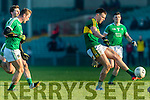 Jack Barry Kerry in action against  Limerick in the Final of the McGrath Cup at the Gaelic Grounds on Sunday.
