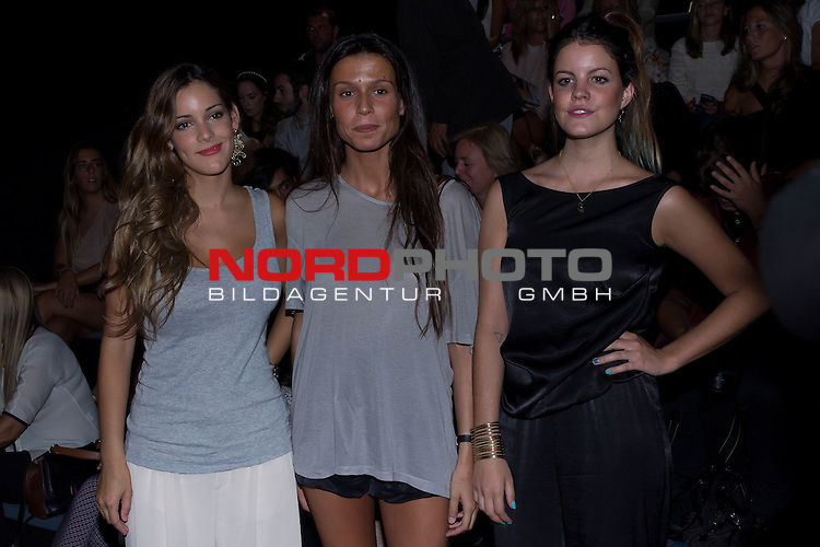 31.08.2012. Celebrities attending the Angel Schlesser fashion show during the Mercedes-Benz Fashion Week Madrid Spring/Summer 2013 at Ifema. In the image (L) Alejandra Onieva Foto © nph / Marta Gonzalez) *** Local Caption ***