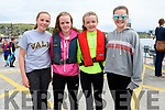 Lily O'Neill, Maire O'Sullivan, Éabha Ní Laighin and Kelly O'Neill (Brandon) enjoying the Dingle regatta on Saturday.
