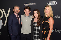 BEVERLY HILLS, CA - OCTOBER 8: Steve Carell, family at the Los Angeles Premiere of Beautiful Boy at the Samuel Goldwyn Theater in Beverly Hills, California on October 8, 2018. <br /> CAP/MPI/DE<br /> &copy;DE//MPI/Capital Pictures
