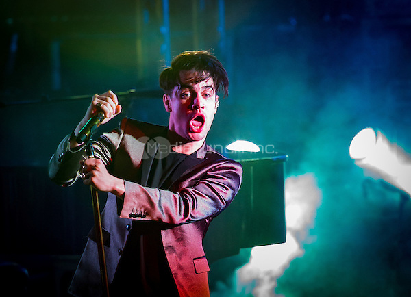 LAS VEGAS, NV - May 12, 2016: ***HOUSE COVERAGE*** Panic! At The Disco performs at The Boulevard Pool at The Cosmopolitan of Las Vegas in Las vegas, NV on May 12, 2016. Credit: Erik Kabik Photography/ MediaPunch