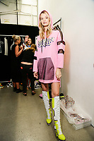 Jeremy Scott<br /> backstage at New York Fashion Week<br /> Spring Summer 2019<br /> in New York, USA September 2018.<br /> CAP/GOL<br /> &copy;GOL/Capital Pictures