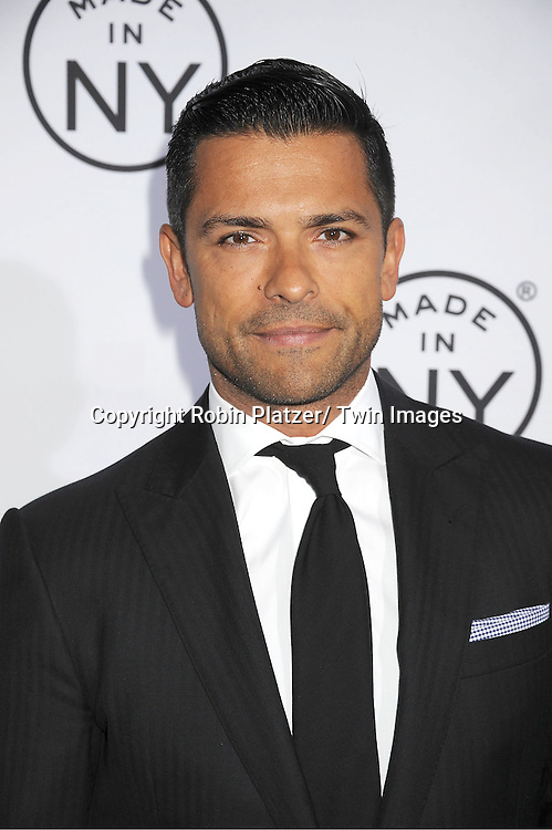"Mark Consuelos attends the ""Made in NY""  Awards at Gracie Mansion on June 4, 2012 in New York City."