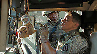 The Hurt Locker (2008) <br /> ANTHONY MACKIE &amp; JEREMY RENNER <br /> *Filmstill - Editorial Use Only*<br /> CAP/MFS<br /> Image supplied by Capital Pictures