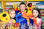 CHARITY: Students from Meenkilly National School in Abbeyfeale who organised a Jumble Sale at the school on Friday afternoon to raise funds for the Abbeyfeale and Templeglantine Cherynoble Groups..L/r. Caroline Leonard, Donal Og O'Connor and Theresa Hughes.    Copyright Kerry's Eye 2008