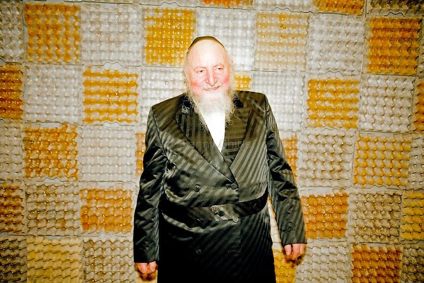 Rabbi Edgar Gluck, chief rabbi of Galicia, Poland